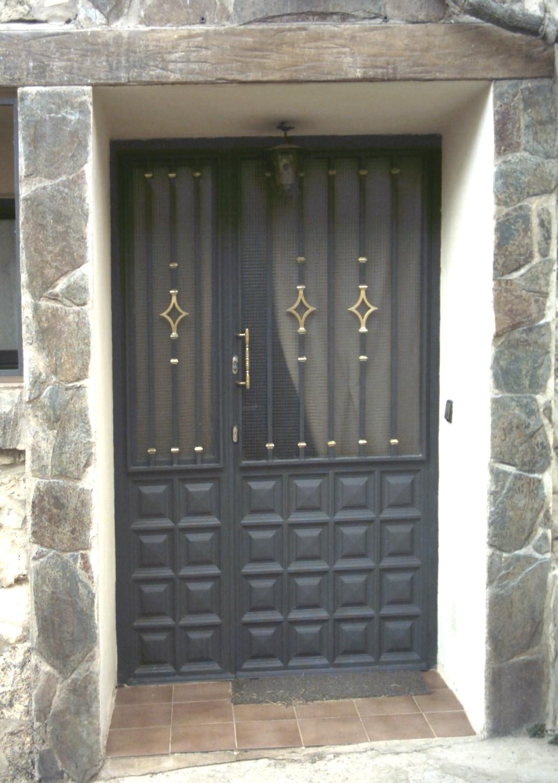 Puertas de hierro para patios perfect de puertas de hierro mexicanas con modelos de puertas de - Puertas para porches ...